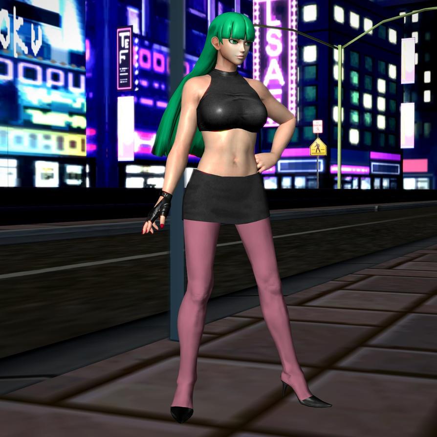 Morrigan Mistress of the Night by RyuAensland