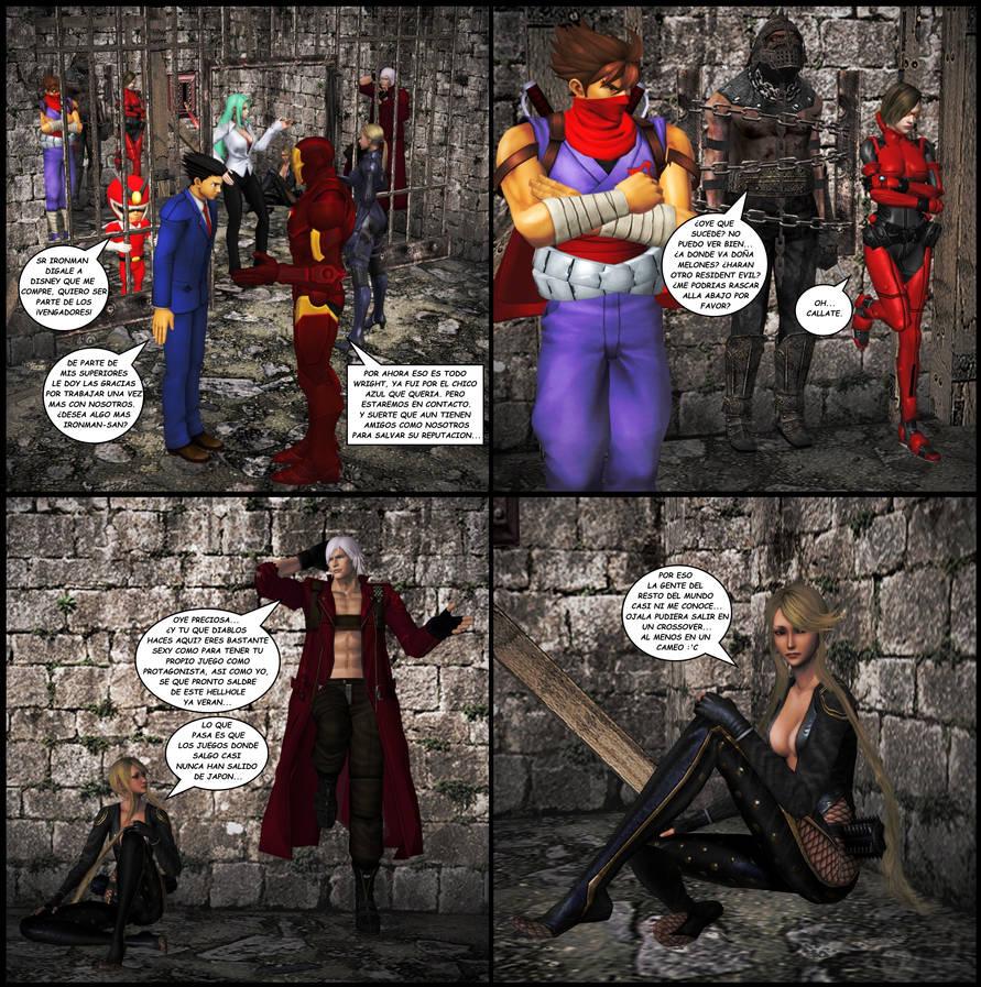 Morrigan Released 02 (Bad Translation below) by RyuAensland