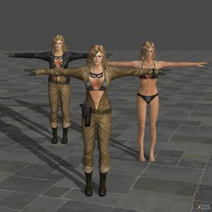 Eva MGS3 Models (REUPLOAD)