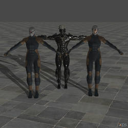 Deviantart Rigged Models