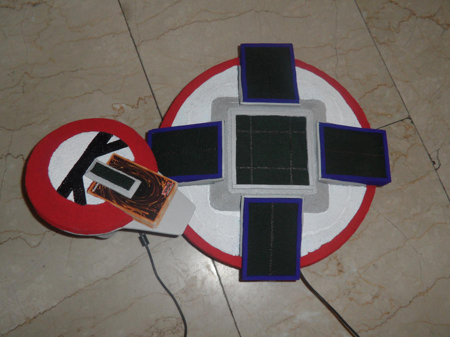 Duel Disk Prototype yugioh cosplay by YUGIOHPASSIONCOSPLAY