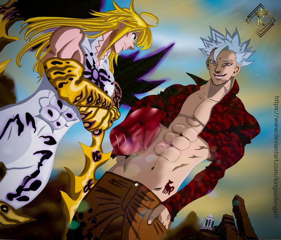 Meliodas Demon King e Ban Nanatsu no Taizai 300 by ...