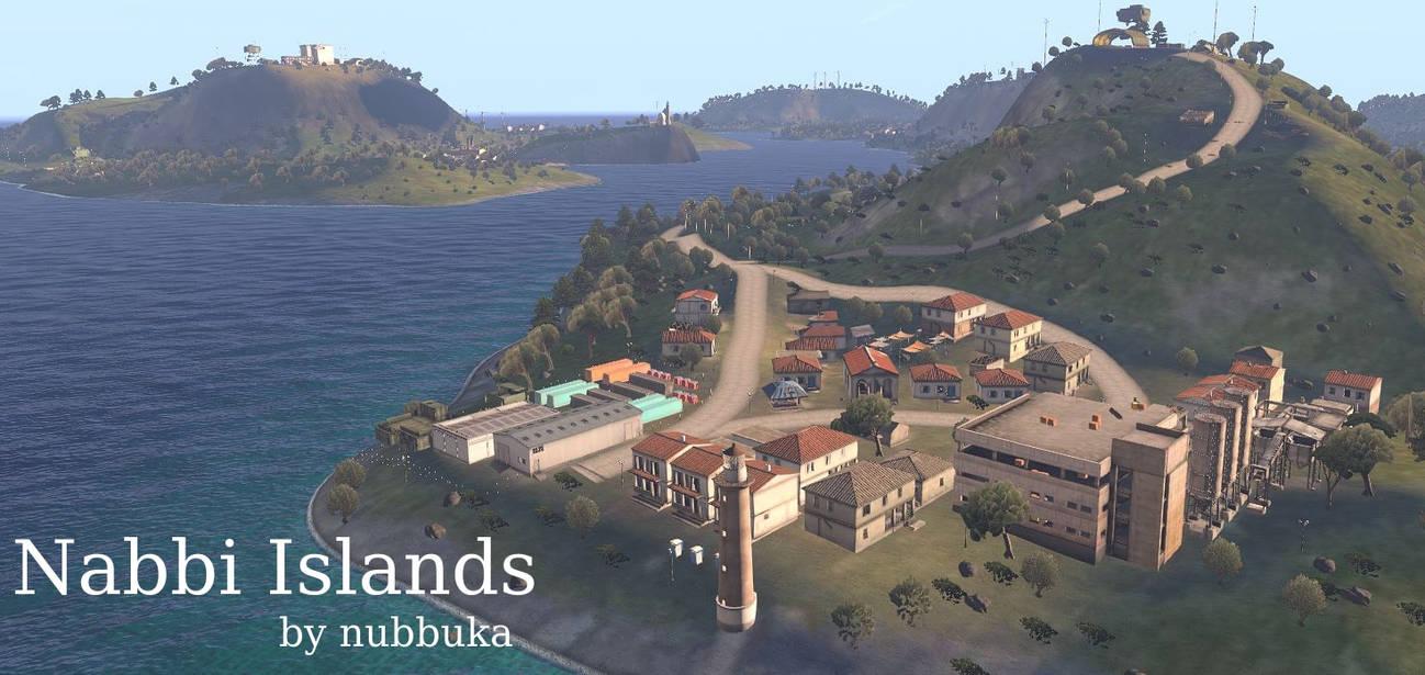 Nabbi Islands Arma 3 map 1 by nubbuka on DeviantArt