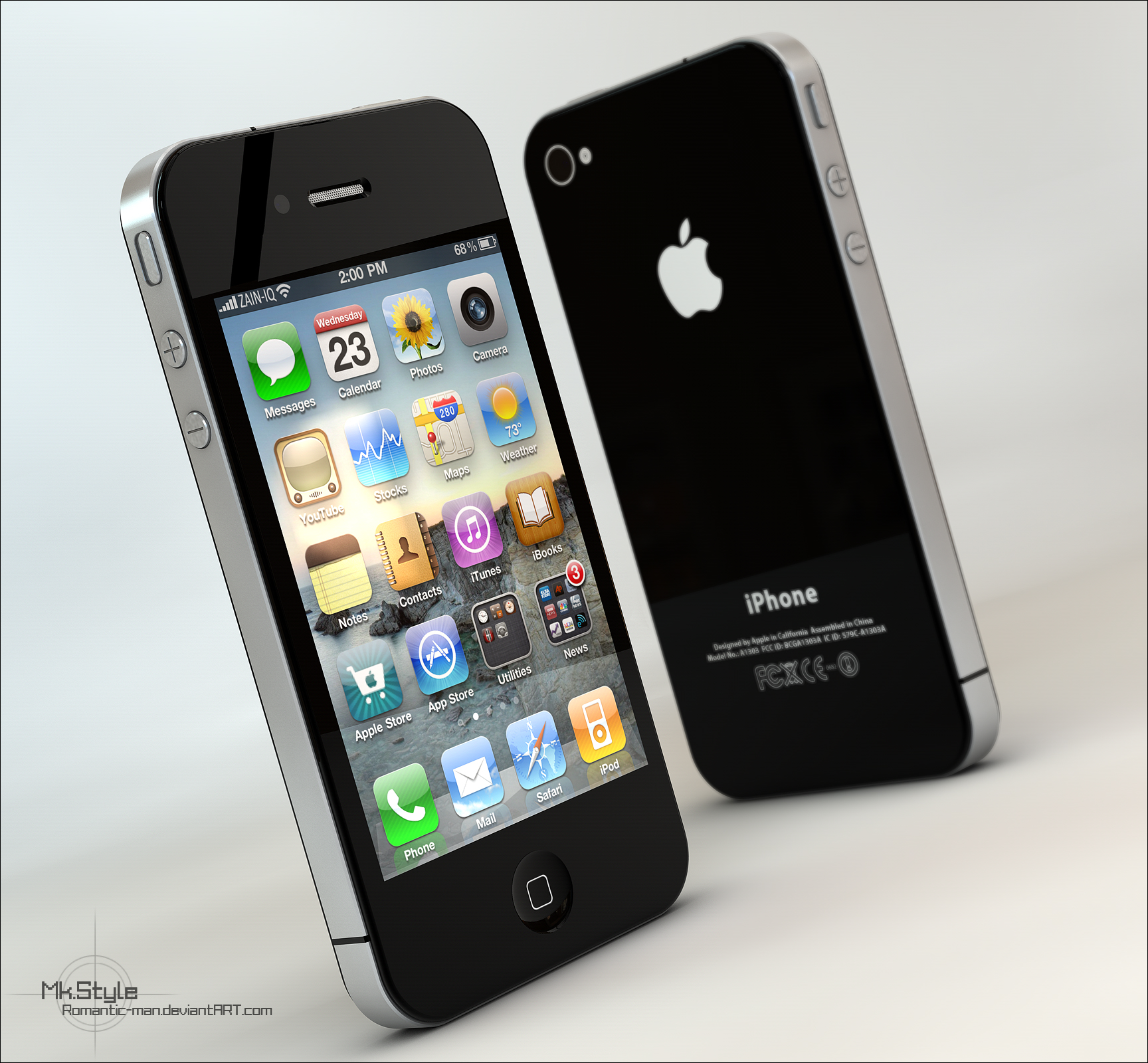 iPhone 4G -2 by Romantic-man