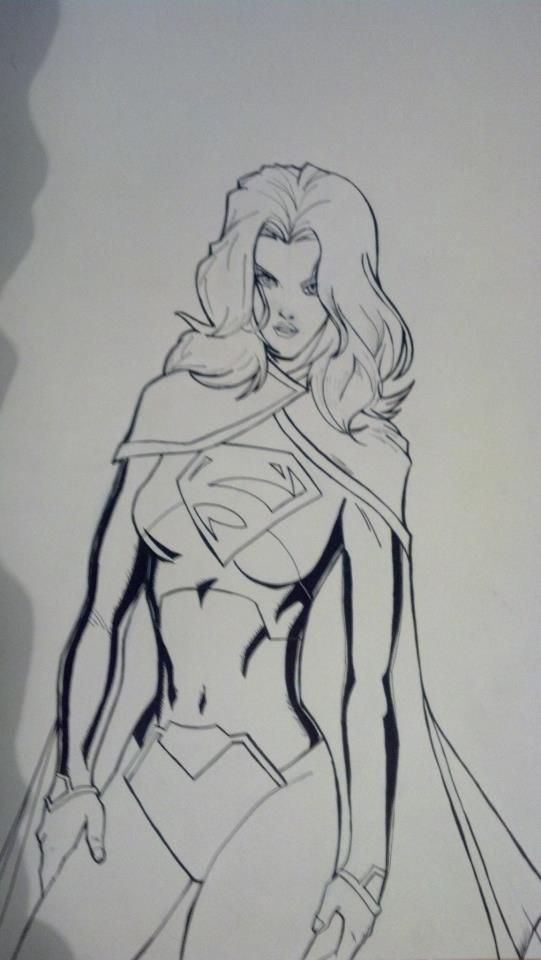 Supergirl New 52 by juanjosilva