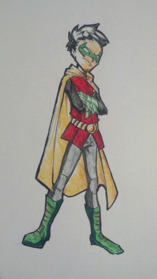 Robin the boy wonder by juanjosilva