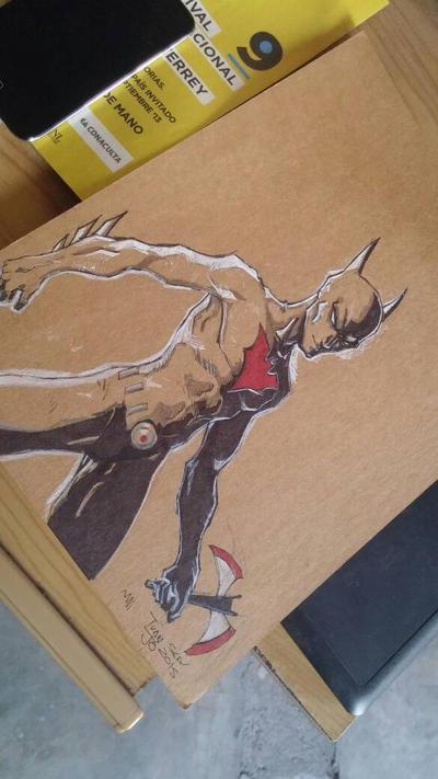 Batman Beyond fan art by juanjosilva