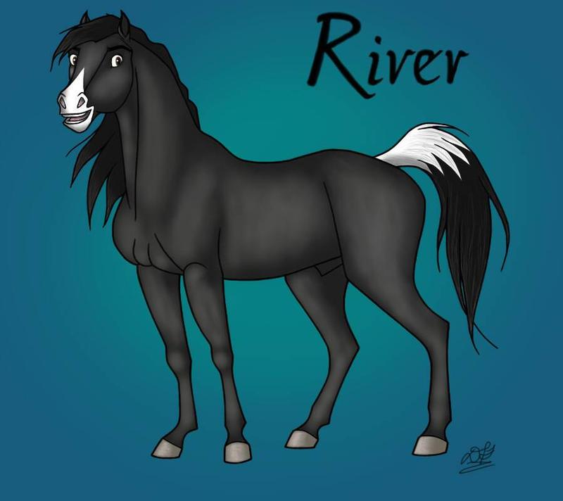 Spirit OC: River by DoodlebugIGBeatle
