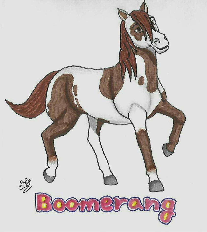 Spirit Riding Free: Boomerang by DoodlebugIGBeatle