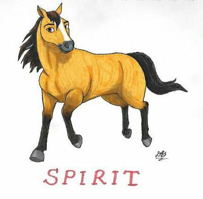 Spirit Riding Free: Spirit by DoodlebugIGBeatle