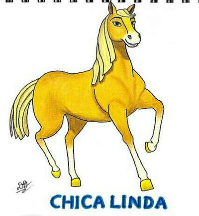 Spirit Riding Free: Chica Linda by DoodlebugIGBeatle