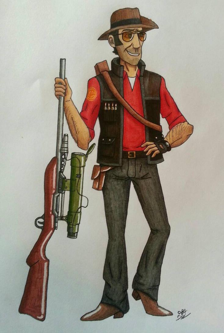 Bushman Sniper by DessyDoodlebug