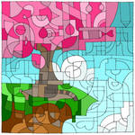 Tree (16th Birthday color challenge)