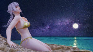 Bath by moon by karaikenxx
