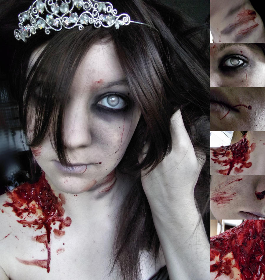 Zomble Princess by SilverEyedPsycho