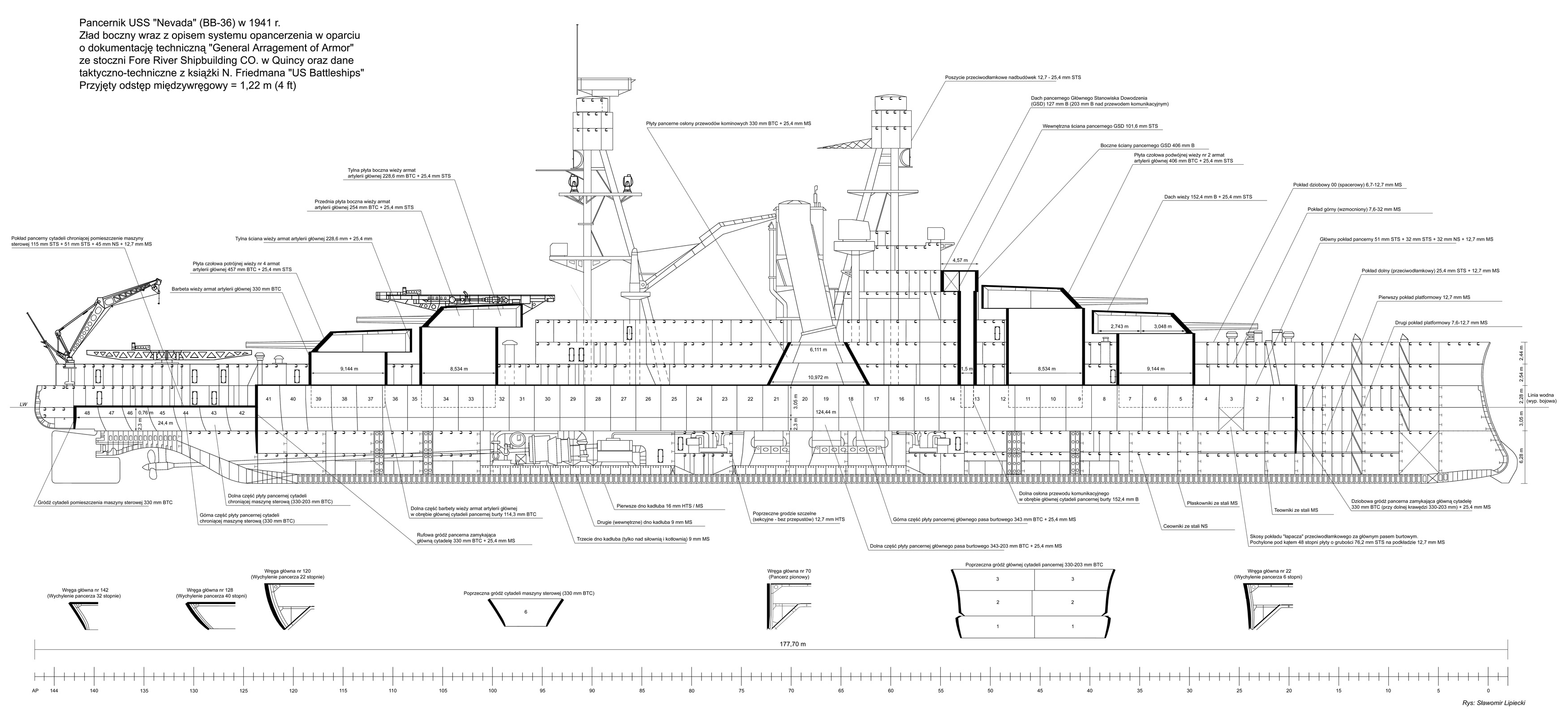 Uss Nevada Bb 36 Age Of Armour Warships World Free Download Destroyer Wiring Diagram Posted Image