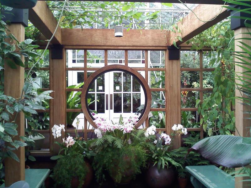 Japanese tea garden wallpaper for Japanese garden room