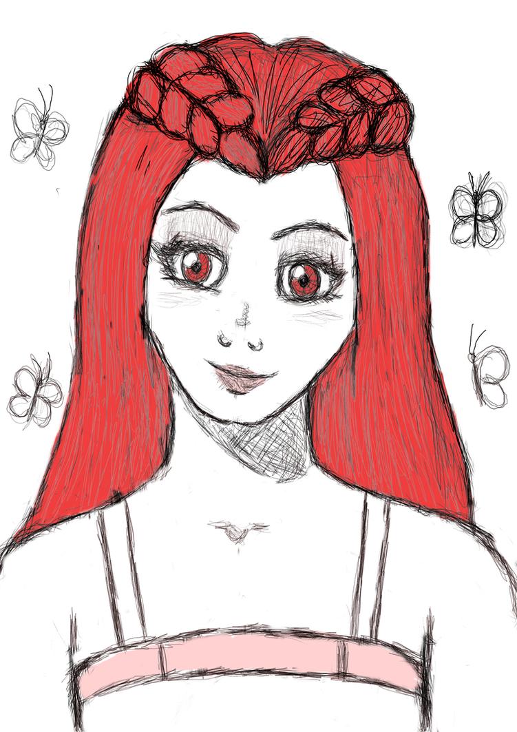 +sketch+Dollie by MismeHellawes