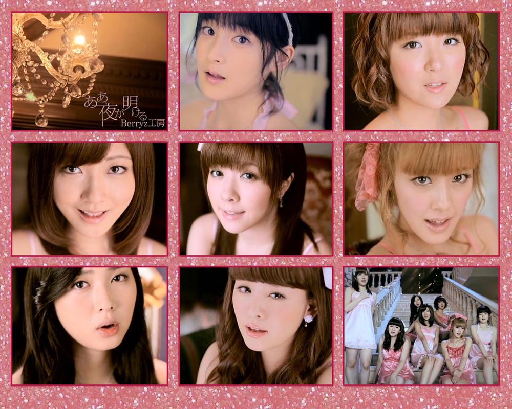 Berryz Kobo - Aa, yo ga akeru by hairsprayfusion