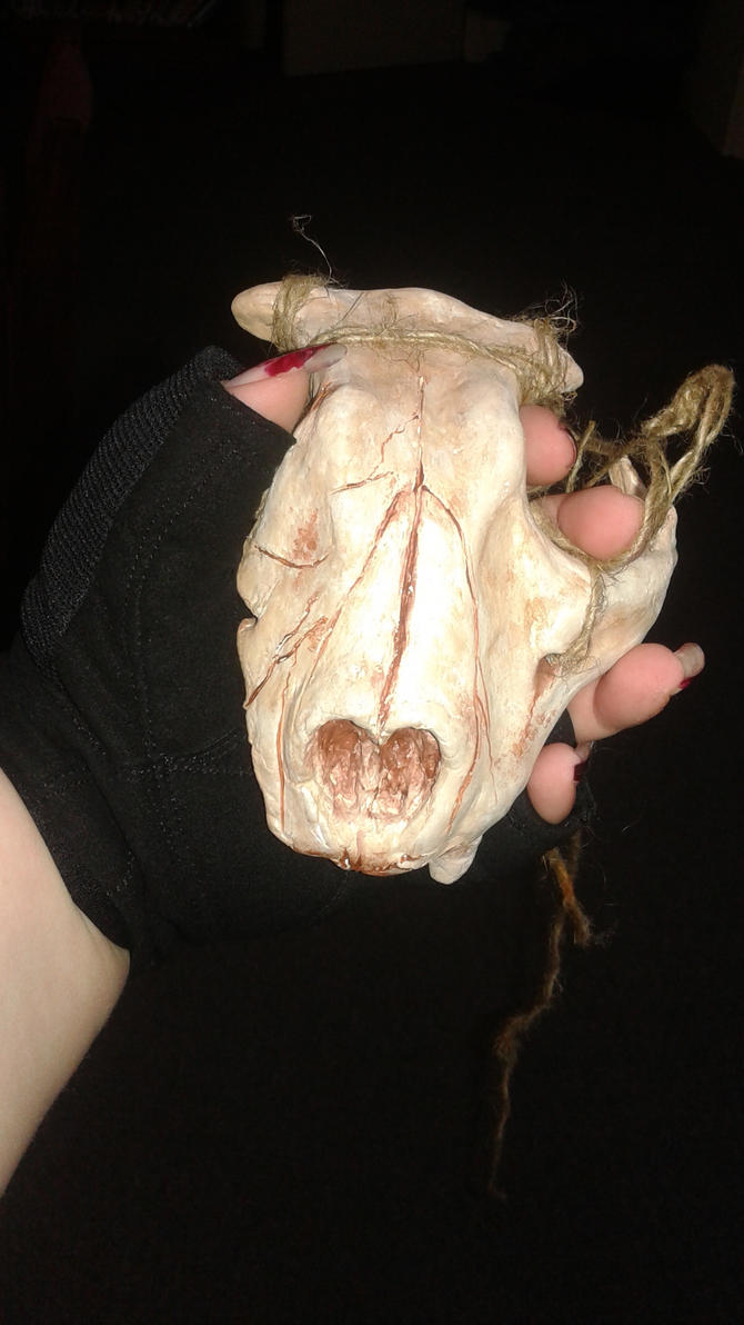 Cat Skull Mask by PadfootBrush