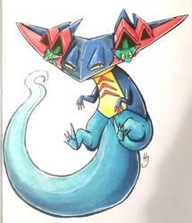 Dragapult - Pokemon fan art