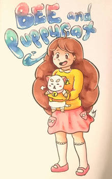 Bee and Puppycat - Fan Art