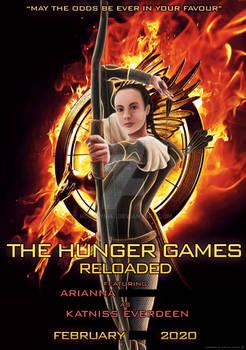 Hunger Games Fan Poster - 2D Digital Artwork