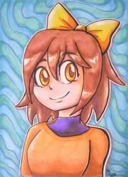 Amber (OC) Portrait Illustration