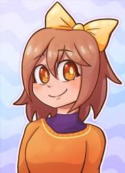 Amber Portrait - Digital Character Illustration