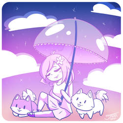 Fanart Illustration - LilyPichu - Pom Pom