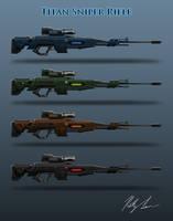 Titan Sniper Rifle: Sniper Gun Variation by lamri247