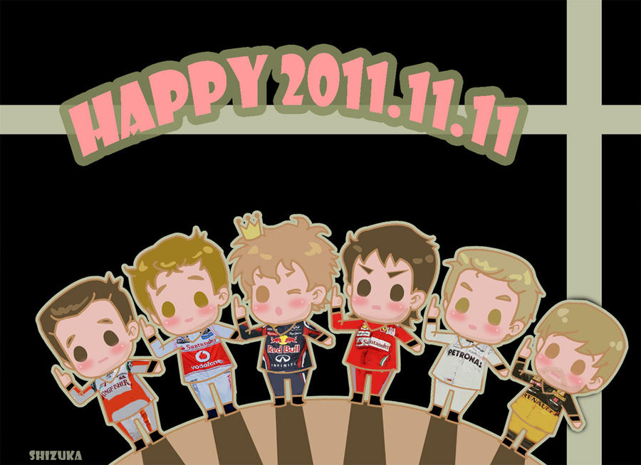 Happy 2011.11.11 by shizukayan