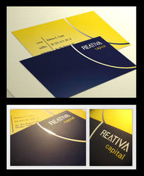 Reativa business card by CostaDesign