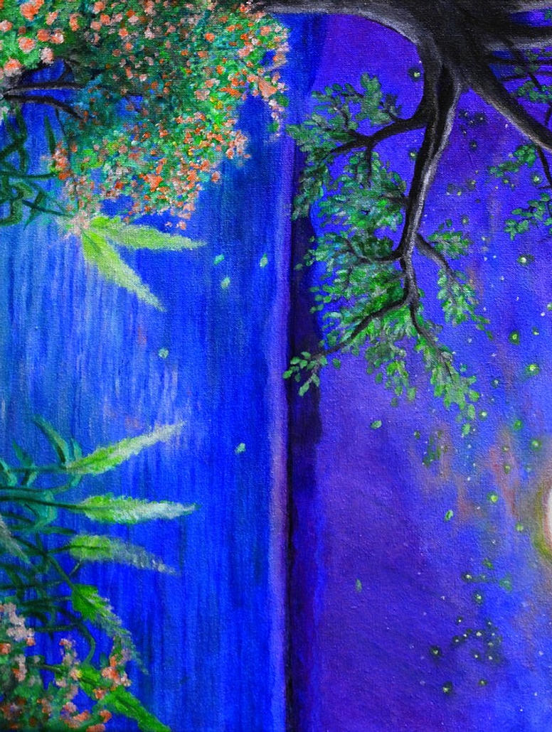 Moon 39 s secrets by beautiful moonlight on deviantart for Beautiful drawings and paintings