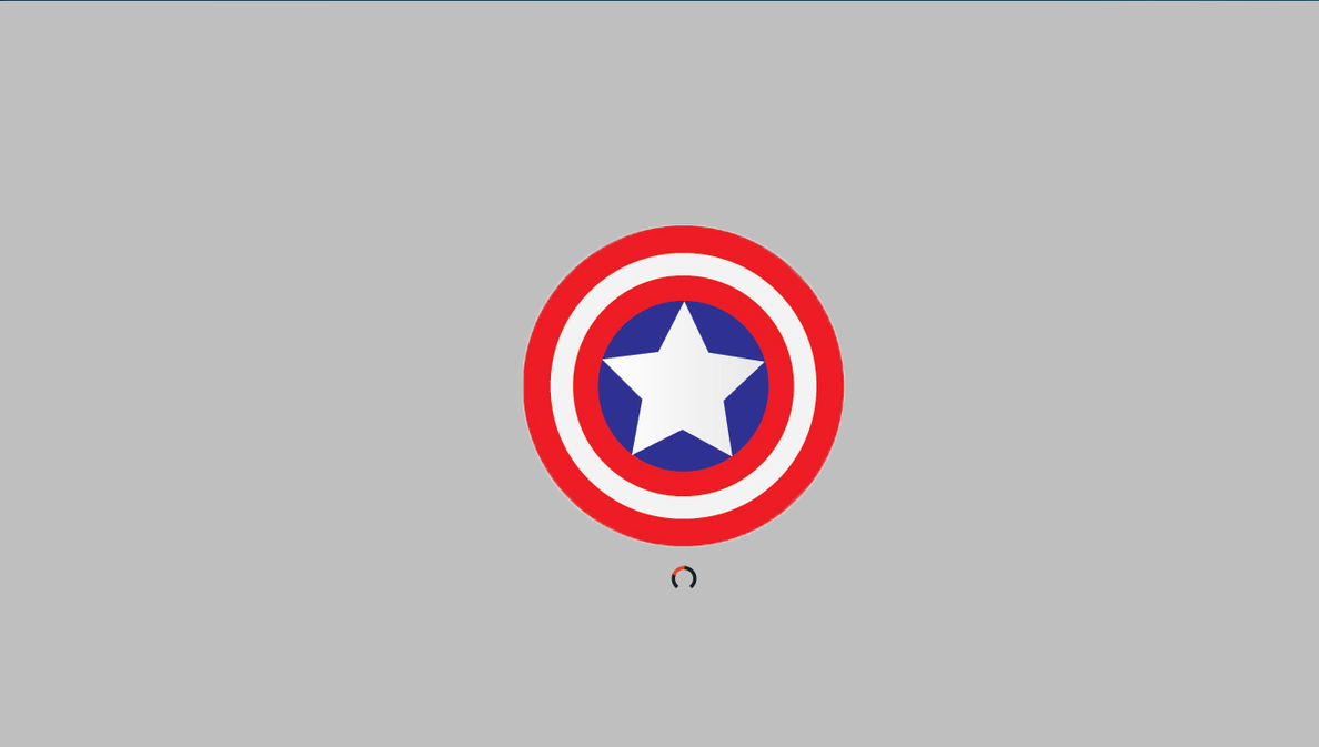 Captain America - Linux Plymouth Theme (Download) by vikkimnm