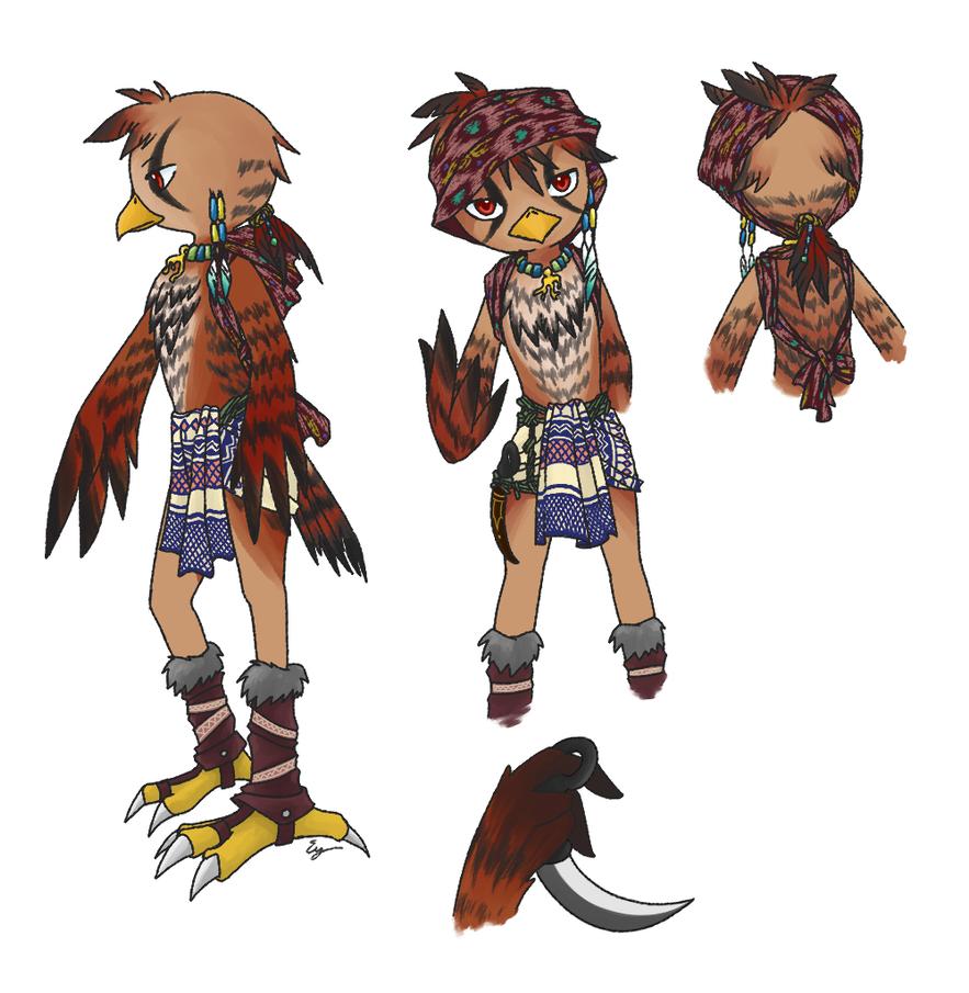Aboriginal Hawk: Sukey by Evelynism