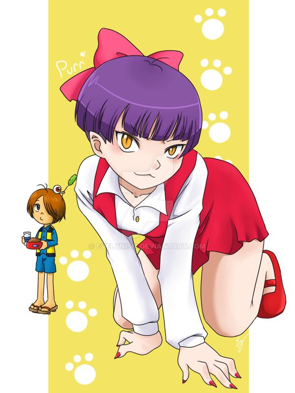 Gegege No Kitaro Cat Girl