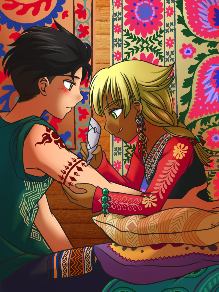 Mehndi by Evelynism