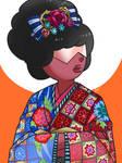 Garnet in Kimono