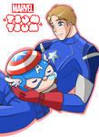 Marvel Tsum Tsum: Captain America