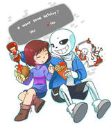 Undertale: Ketchup? by Evelynism