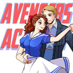 Avengers Academy: Steve x Peggy
