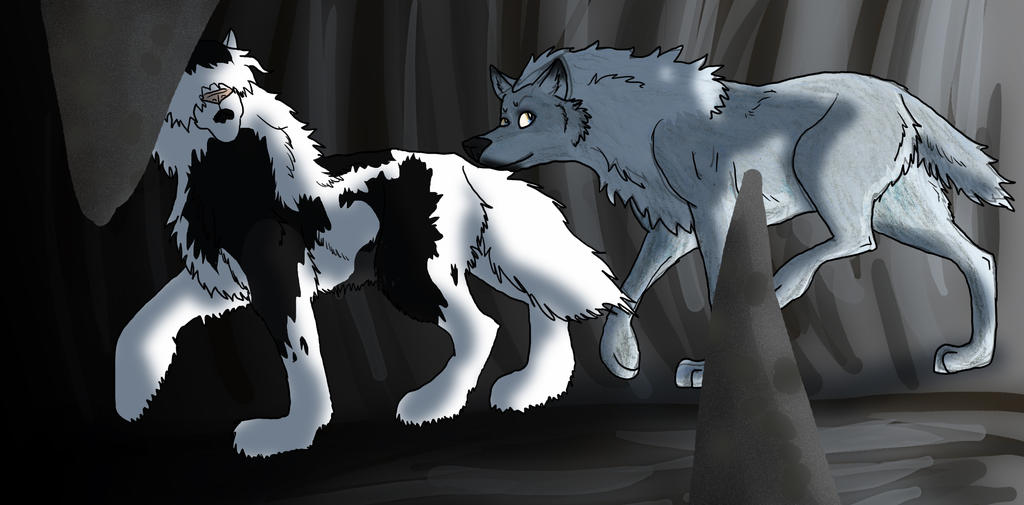Lease Caving1: Weren't you supposed to bring that? by Kerbywolf
