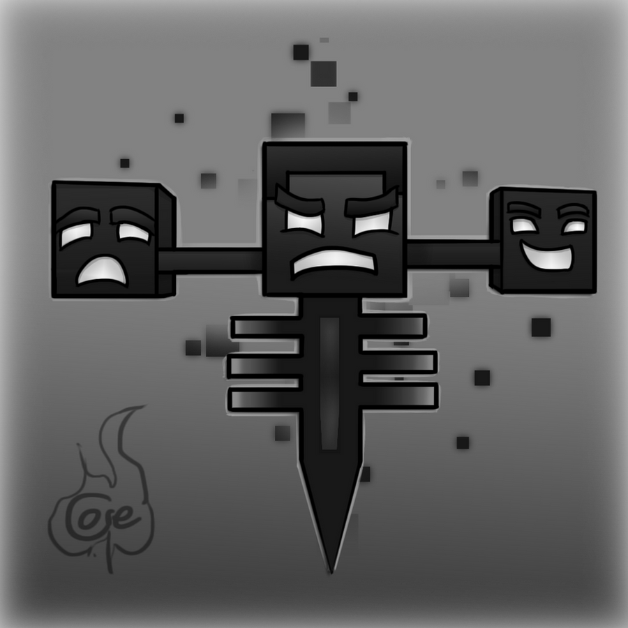 Minecraft Wither by TruCorefire