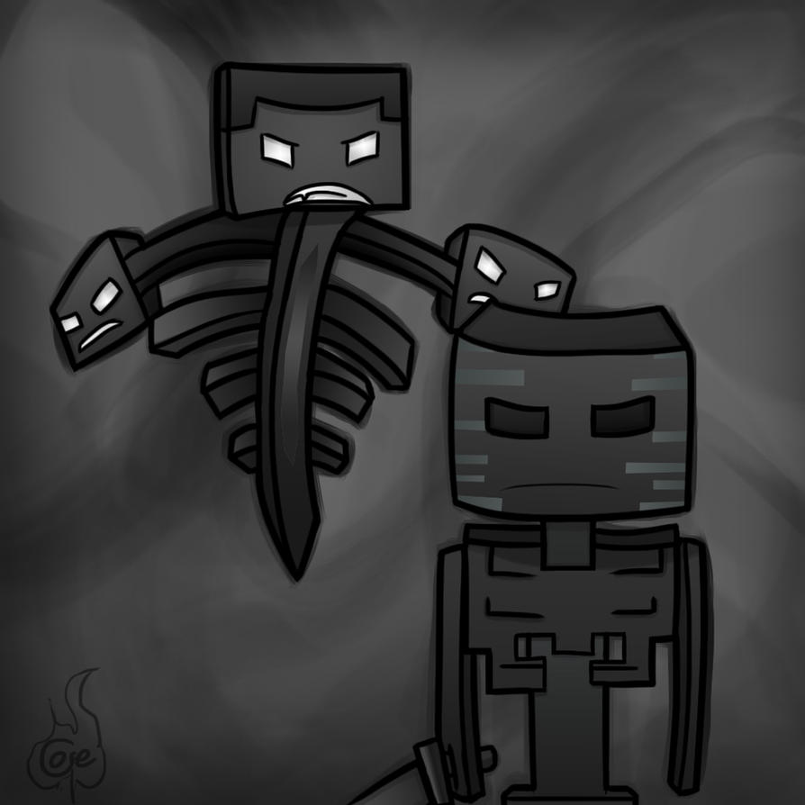 Wither Skeleton by TruCorefire Minecraft Wither Skeleton Wallpaper