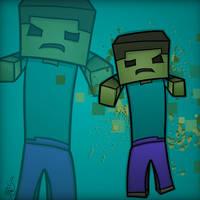 Minecraft Mob Spotlight: Zombie by TruCorefire