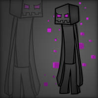 Minecraft Mob Spotlight: Enderman by TruCorefire