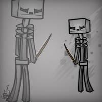 Minecraft Mob Spotlight: Skeleton by TruCorefire