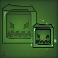 Minecraft Mob Spotlight: Slime by TruCorefire