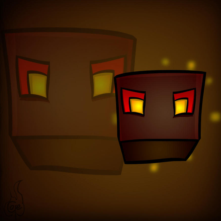 Minecraft Mob Spotlight: Magma Cube by TruCorefire on ...